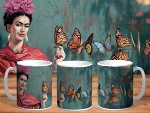 Tasse Cup Mug Becher Aquarelle Paintings collection Frida Kahlo FAN new2020 v55