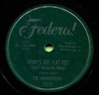 MIDNIGHTERS (Henry's Got Flat Feet / Whatsonever You) R&B/SOUL 78  RPM  RECORD