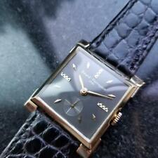 GIRRARD PERREGAUX Men's 14k Gold Manual Wind Dress Watch, c.1960s Swiss LV703