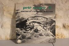 Vinyle 33 Tours - Pete Seeger - American favorite ballads - 5
