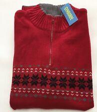 NWT Gymboree Holiday Classics Dad Red Sweater XXL 2XL