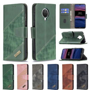For Nokia G20 1.4/5.4/3.4/2.4/2.3/1.3/5.3 Splic Flip Stand Leather Phone Case