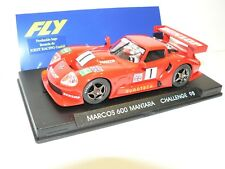 Fly Marcos 600 Mantara Challenge 98 Rojo Limitado Edición E25 Nuevo