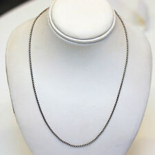DAVID YURMAN NEW 1.7mm Sterling Silver Baby Box Chain Necklace  17""