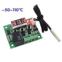 Temperature Controller Module Thermostat Relay DC 12V Heat Cool Sensor Equipment
