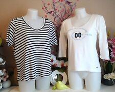 """Lot vêtements occasion femme - Hauts """" Zara - Eden Park """" - T : 40 / 42"""
