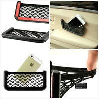 Durable Car Interior Small Goods Storage Resilient Net Bag Holder For Volkswagen