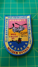 USS Kearsarge Helicopter Rescue CSAR Med Cruise 95 USN Patch LDH-3 Phoenix SAR <