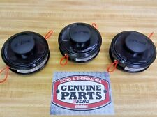 21560070 (3PACK) GENUINE Echo SRM Echomatic trimmer heads comes with 3 heads!!!