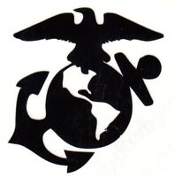 REFLECTIVE USMC Marine Corps decal sticker up to 12 inches RTIC hardhat devil