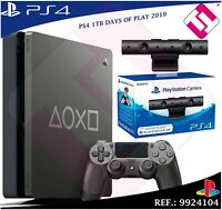 DAYS OF PLAY PS4 1TB 2019 PLAYSTATION 4 EDICION LIMITADA + CAMARA VR PACK OFERTA