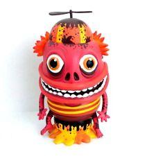 "The Maniac Red Orange by Skwak and Mindstyle 7.5"" Vinyl Art Toy Figurine"