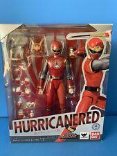 S.H. Figuarts Power Rangers Ninja Storm Hurricanered Red Ranger Bonus