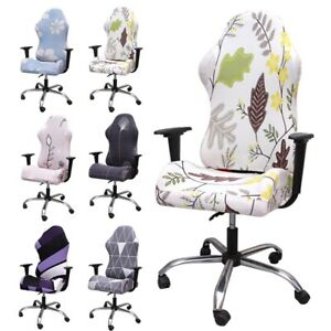 1PC Swivel Computer Gaming Chair Cover Stretch Office Chair Slipcovers Protector