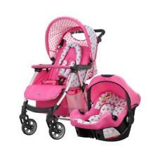 Poussette de promenade roses dossier réglable pour bébé