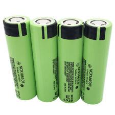 4X 18650 3400mAh High Drain NCR18650B 3.7V Li-ion Rechargeable Battery for Vape