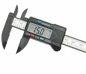 Digital Electronic Caliper Measuring Tools Micrometer Gauge 100MM 1 LCD Displays