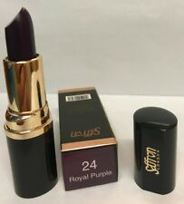 Saffron Lipstick- Royal Purple- Matte Purple Lipstick - Makeup