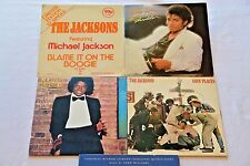 Lot 5 MICHAEL JACKSON LP Thriller/Goin' Places/Off the Wall  Epic NM