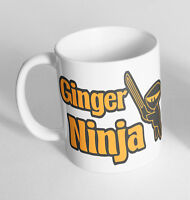 Ginger Ninja Cup Ceramic Novelty Mug Funny Gift Tea Coffee