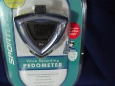 NEW Sportline Voice Recording Distance Calories Pedometer Digital Accuracy