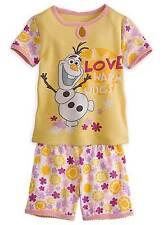 Disney Store Frozen Olaf Pajamas Size 7