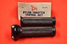NOS Vintage Superior Nylon Motorcycle Throttle Assembly, Honda Yamaha Mini Bike