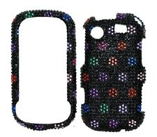 Color Dots Diamond Bling Cover Case for Samsung Messager Touch R630 / R631