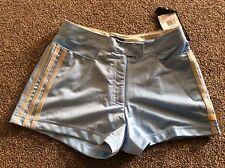 Las señoras cortos Argentina Azul/Gobi BNWT SIZE UK 8 Correr Gimnasio tónico para