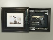 Hidden Storage Photo Frame for Gun and Valuables 15-1/2 x 13-1/2 / Magnetic Lock