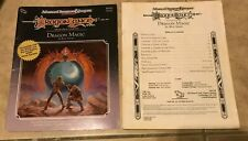 Advanced Dungeons & Dragons DLE2 Dragon Magic Book Folder