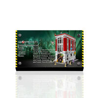 Display plaque  for LEGO  Firehouse Headquarters 75827 (AUS Top Rated Seller)
