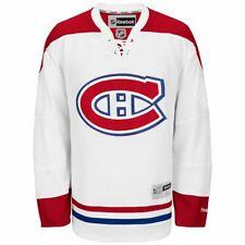 Montreal Canadiens NHL Reebok Mens Premier Away Jersey White Size- XL
