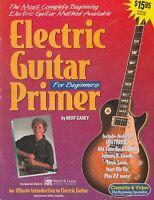 Electric Guitar Primer (Book & DVD) by Bert Casey