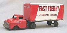 Vintage Tin Fast Freight Truck -- Haji Japan