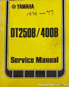 1974 Motorcycle Service Repair Manuals For Sale Ebay