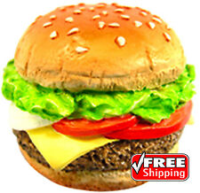 3D Souvenir Collectibles Fridge Magnet Magnetic FAST FOOD HAMBURGER