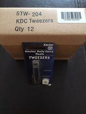 Klecker Knives Daily Carry Tools Tweezers Box Of 12 *Nib* 100% Klecker!