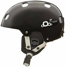 POC Receptor BUG Adjustable 2.0 Ski Helmet, Uranium Black, X-Small - Small