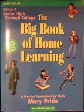 The Big Book Of Home Learning Junior High School Through College Home school
