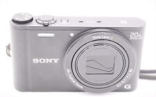 Sony Cyber-Shot DSC-WX350 18.2 MP 3''SCREEN 20x Digital Camera - Black