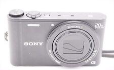 Sony Cyber-Shot DSC-WX350 18.2 MP 3''SCREEN 20x Digital Camera - Black