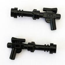 2 x STAR WARS lego BOBA FETT BLASTER GUNS mandalorian jango minifig weapons NEW
