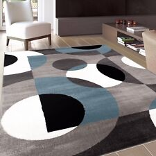 RUGSHOP MODERN CIRCLES INDOOR SOFT AREA RUGS