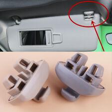 Fit For Audi TT A6 S6 Interior Sun Visor Clip Hook Mount 4F0857561 Grey/Beige