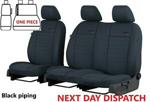 CITROEN JUMPY DISPATCH 2018 2019 2020 2021 FABRIC TAILORED FRONT SEAT COVERS