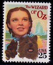 US Scott #2445 25c CLASSIC FILMS - JUDY GARLAND in Wizard OF OZ Mint VFOG Single