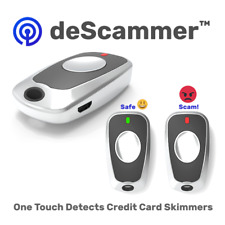 Anti-Spy deScammer One Touch Mini Credit Card Skimmer Detector Gas Stations ATM