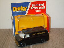 Bedford Van The Daily Telegraph van Dinky Toys Code 2 John Gay in Box *15494