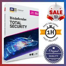 Bitdefender Total Security 2020🔥 90 DAYS / 5 PCs 🔥 ORIGINAL ⚡INSTANT DELIVERY⚡